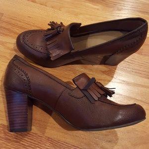 G.H. Bass & Co. Tassel Heels